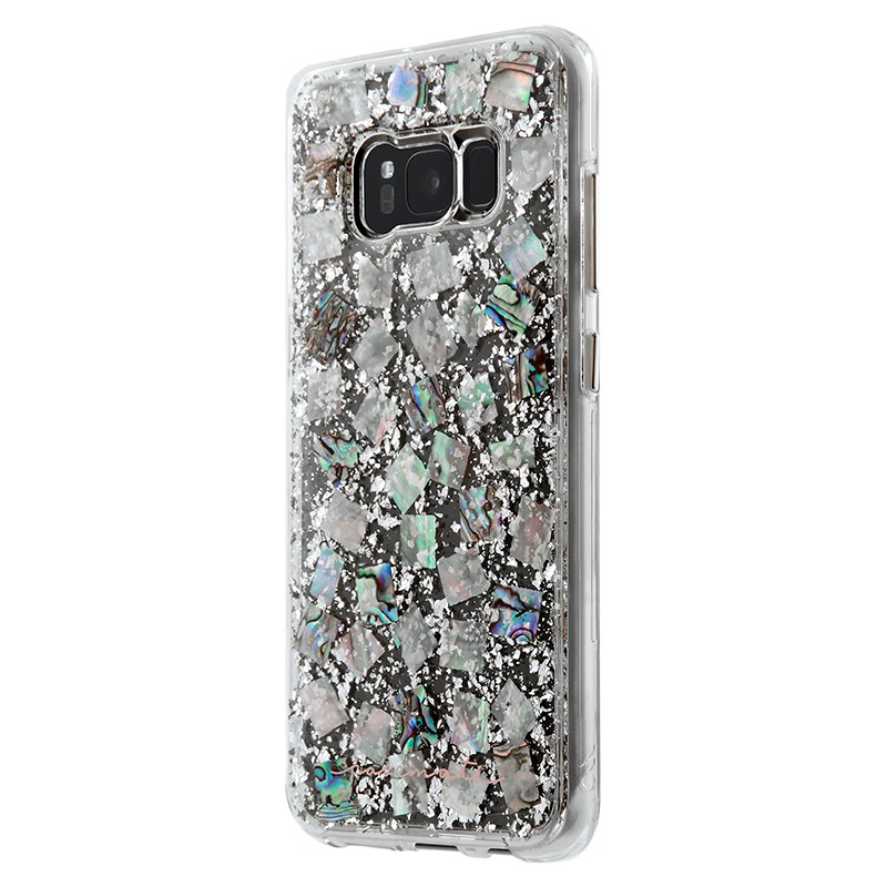 Case-Mate Karat Case For Samsung Galaxy S8 - Mother of Pearl
