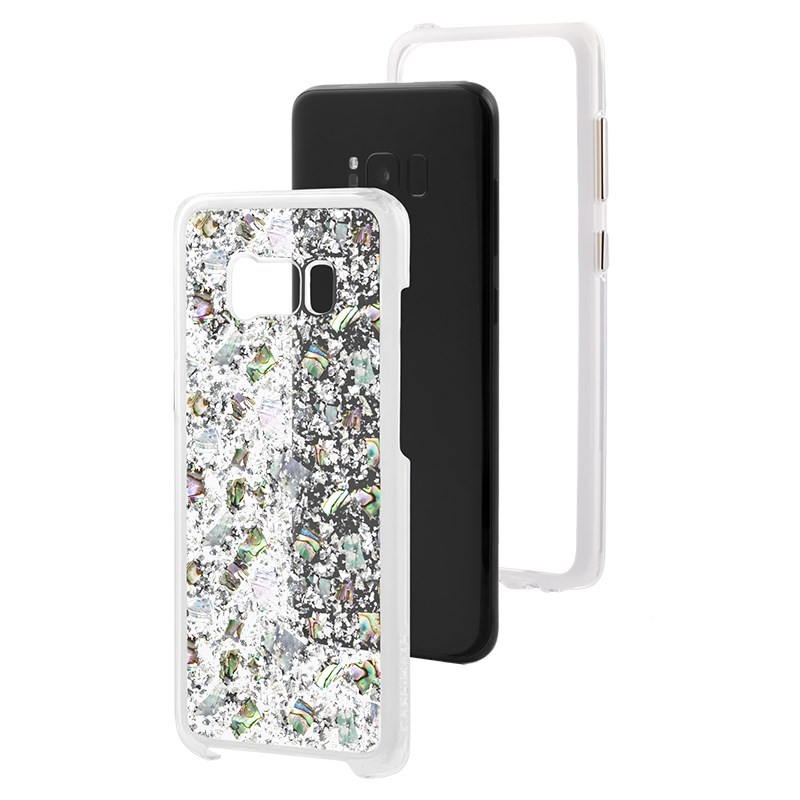 Case-Mate Karat Case For Samsung Galaxy S8 - Mother of Pearl  Front Assembly
