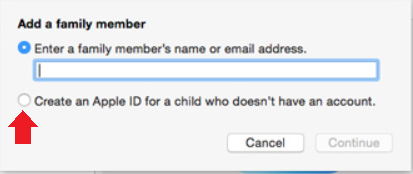 how to set up icloud family sharing on iphone