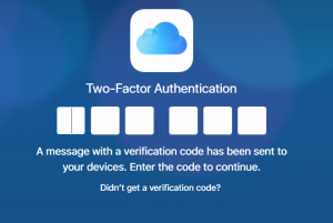 Turned on the Two-Factor Authentication