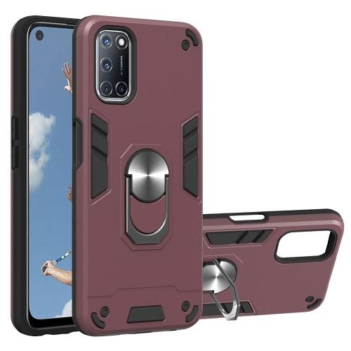 Oppo A72 Case Wine Red
