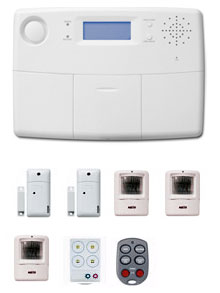 Family Home Wireless Security System - 9 Piece