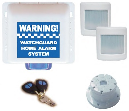 Watchguard Wireless Home or Office Alarm System 2 Zone