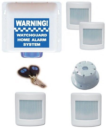 Watchguard Wireless Home or Office Alarm System 4 Zone