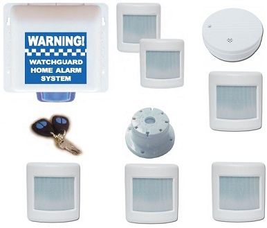 Watchguard Wireless Home or Office Alarm System 6 Zone