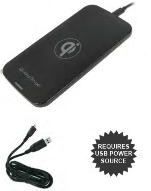 Qi Wireless Charging Pad Deluxe