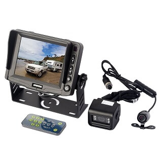 5 Inch Gator Reversing Camera With Trailer Kit And 2 Cameras Wired