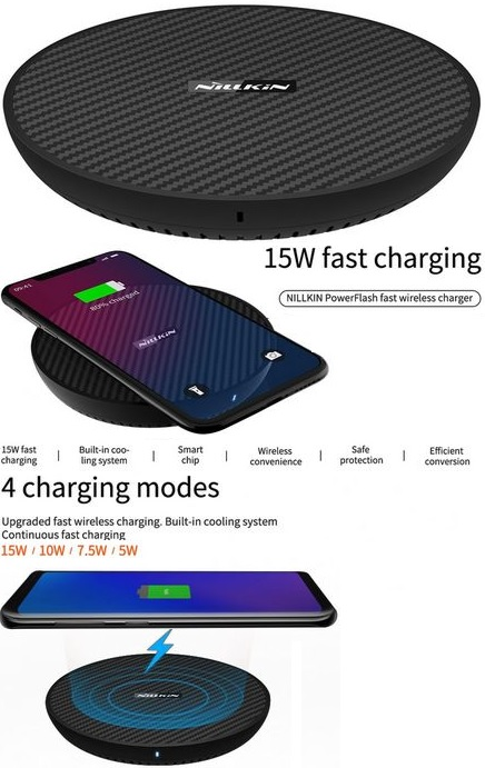 Qi Wireless Fast Charging Pad 15W