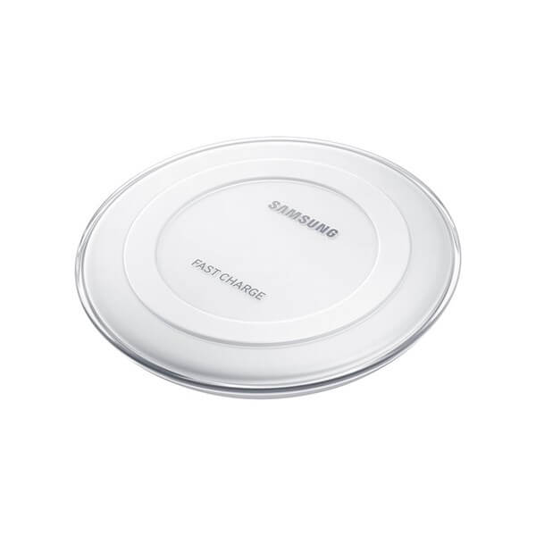 Samsung Wireless Charging Pad Round with Adaptive Fast Charging White