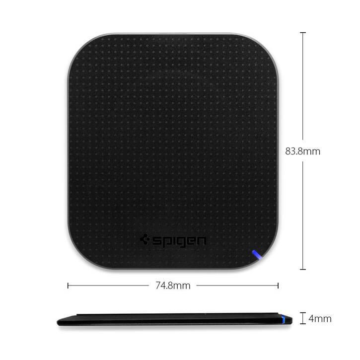 Spigen Wireless Charger With Dimensions