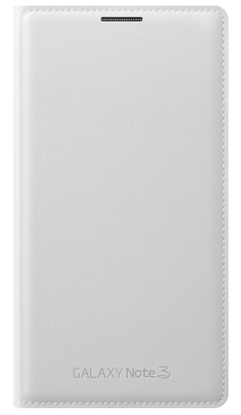 Samsung Premium Leather Wallet For Samsung Galaxy Note 3 White
