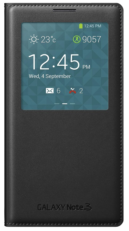 Samsung S-View Case For Samsung Galaxy Note 3 Black