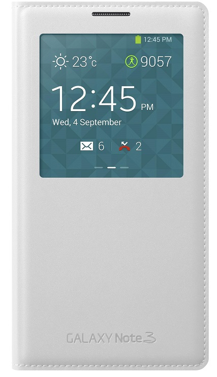 Samsung S-View Case For Samsung Galaxy Note 3 White