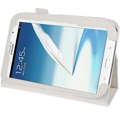 Samsung Galaxy Note 8 Leather Case White