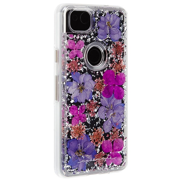 Case-Mate Karat Petals Case suits Google Pixel 2 Purple
