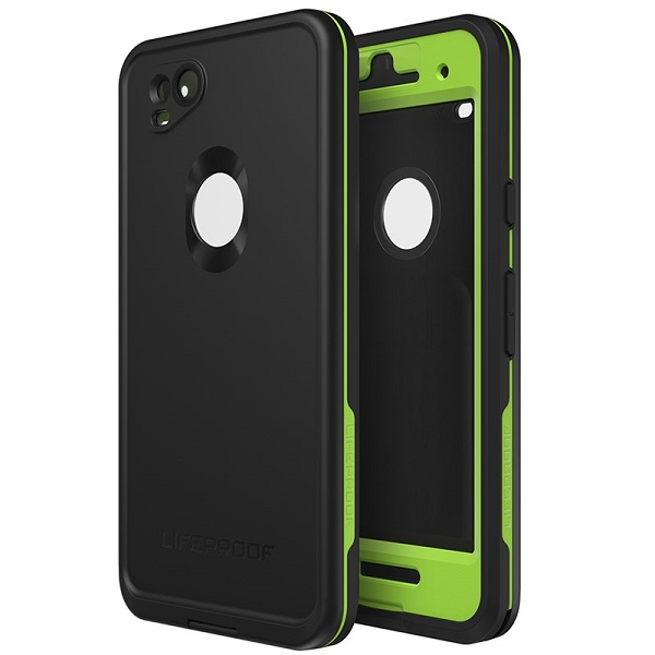 LifeProof Fre Case suits Google Pixel 2 Black / Lime