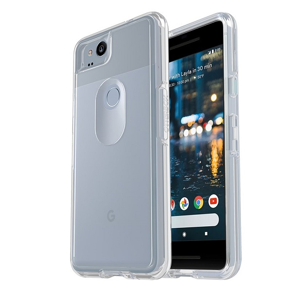 OtterBox Symmetry Clear Case suits Google Pixel 2 Clear