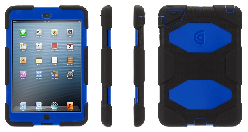 Griffin Survivor Case for iPad Mini With Retina Display Black and Blue