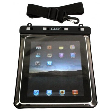 OverBoard Waterproof iPad and Tablet PC Pouch Case Black