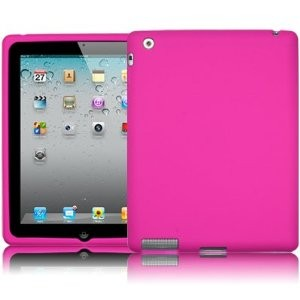 New iPad 3rd Gen Silicon Case Pink