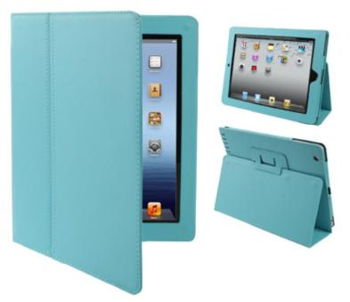 iPad with Retina Display 4th Gen Leather Case Blue