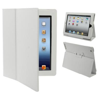 iPad with Retina Display 4th Gen Leather Case White