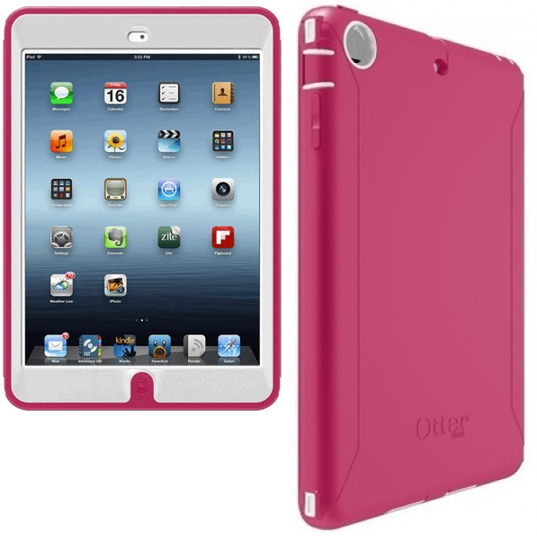 official photos b1400 c4866 iPad Mini With Retina Display OtterBox Defender Case Pink - Campad ...