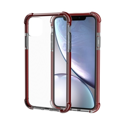 Shockproof TPU And Acrylic Protective Case For iPhone 11 Pro Max Brown