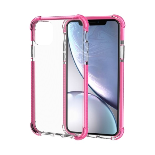 Shockproof TPU And Acrylic Protective Case For iPhone 11 Pro Max Pink