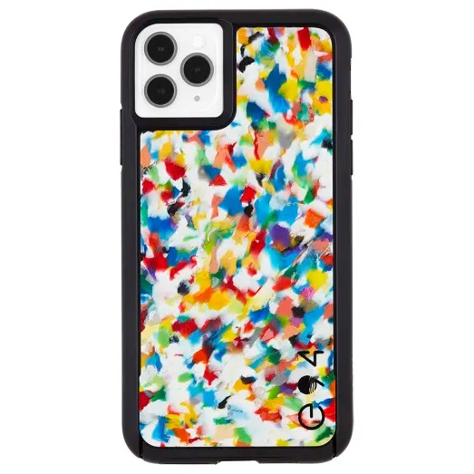 Case-Mate Eco Reworked Case For iPhone 11 Pro Max Rainbow Confetti
