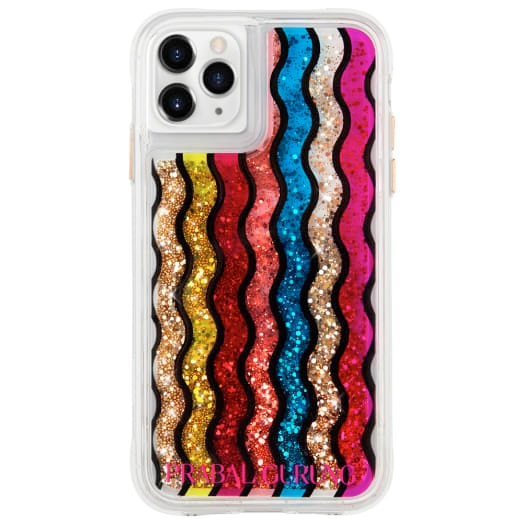 Case-Mate Prabal Gurung Case For iPhone 11 Pro Max Rainbow Waterfall