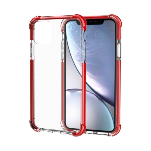 Shockproof TPU And Acrylic Protective Case For iPhone 11 Pro Red