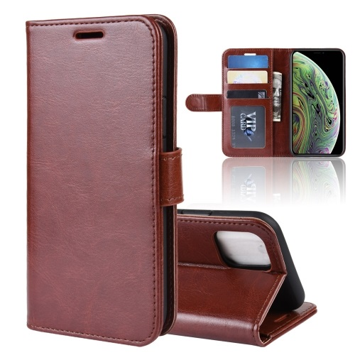 Wallet Case For iPhone 11 Pro Brown