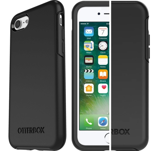 Otterbox Symmetry Case Black For iPhone SE 2020/7/8