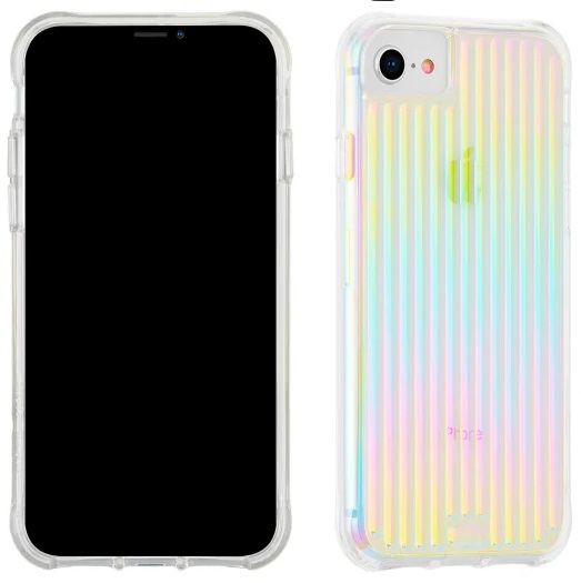 Case-Mate Tough Groove Case Iridescent For iPhone 8/7/6/6S/SE