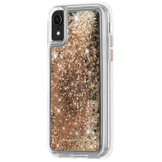 Case-Mate Waterfall Street Case suits iPhone XR Gold