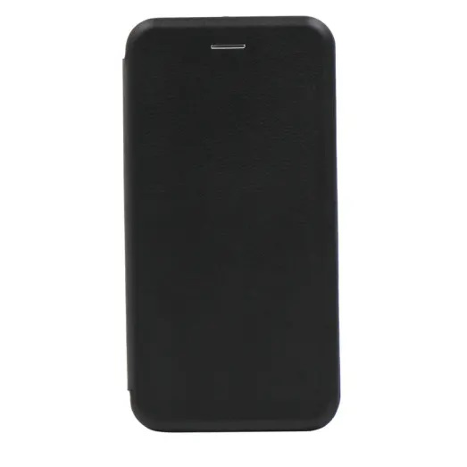 Cleanskin Elegant Mag Latch Flip Wallet with Single Card Slot suits iPhone XR Black