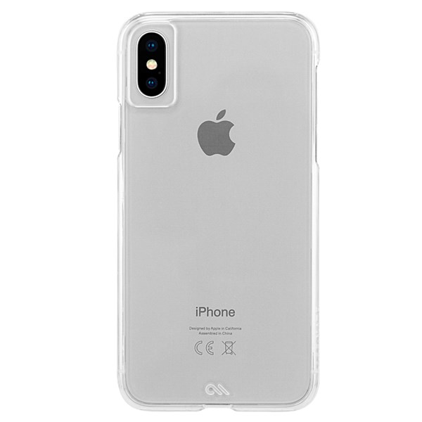 Case-Mate Barely There Minimalist Case suits iPhone Xs Max Clear