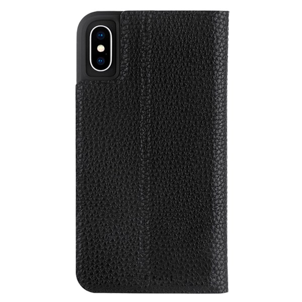 Case-Mate Barely There Folio Minimalist Case suits iPhone Xs Max Black