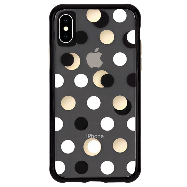 Case-Mate Wallpaper Street Case suits iPhone Xs Max Metallic Dot