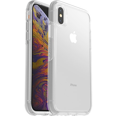 OtterBox Symmetry Clear Case suits iPhone X And Xs Clear