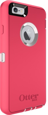 iPhone 6 And iPhone 6S OtterBox Defender Case Whisper White Blaze Pink