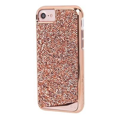 Case-Mate Brilliance Case suits iPhone 7 Plus Rose Gold