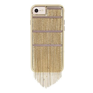 Case-Mate Fringed Metal Case suits iPhone 6/6S/7/8 - Gold
