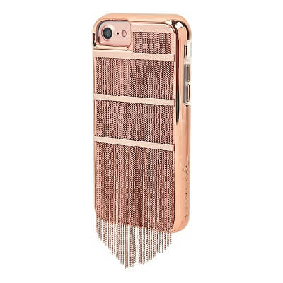 Case-Mate Fringed Metal Case suits iPhone 6/6S/7/8 - Rose Gold