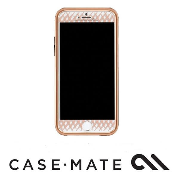 Case-Mate Guilded Glass Screen Guard suits iPhone 7 Plus Rose Gold