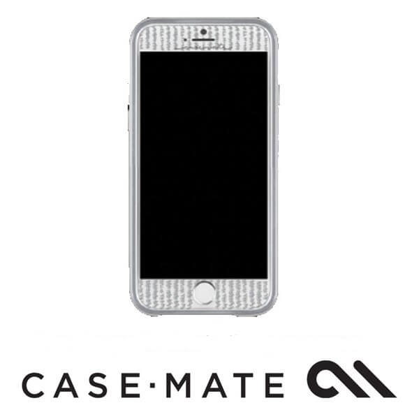 Case-Mate Guilded Glass Screen Guard suits iPhone 7 Plus Silver