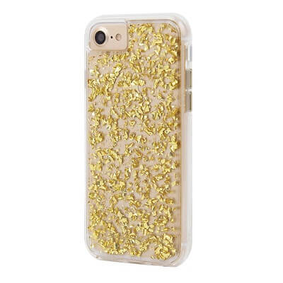 Case-Mate Karat Case suits iPhone 7 Plus Gold/Cear
