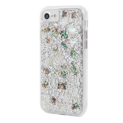 Case-Mate Karat Case suits iPhone 7 Plus Mother of Pearl