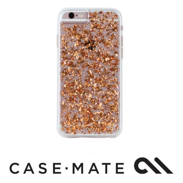Case-Mate Karat Case suits iPhone 7 Plus Rose Gold/Clear